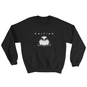 1Lifer Coat of Arms Sweatshirt (wht txt)