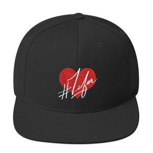 1Lifer Love Snapback (blk)