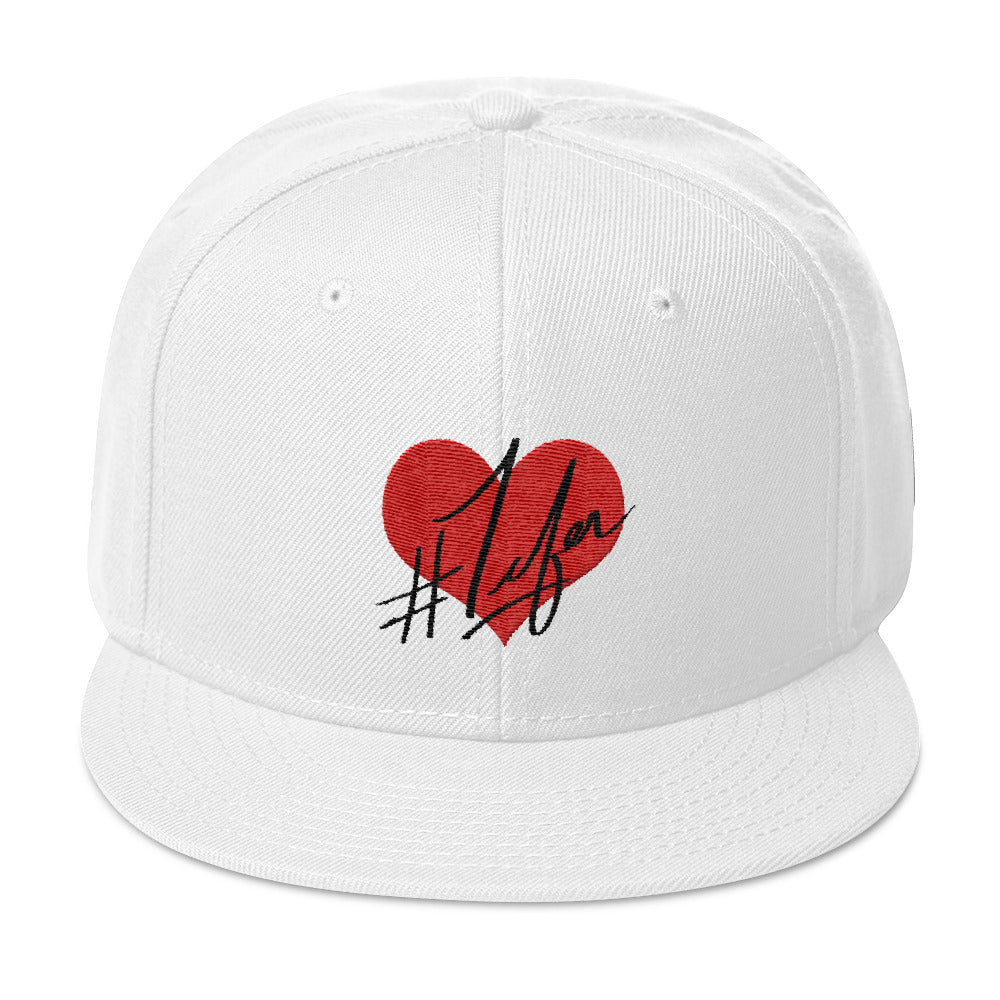 1Lifer Love Snapback (wht)