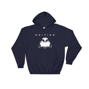 1Lifer Coat of Arms Hoodie (wht txt)