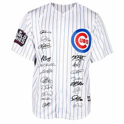 d8b15a836ef Men s Jersey Chicago Cubs 2016 World Series Signs Collection Bound Flexbase  Jersey UBS Short Sleeve Striped