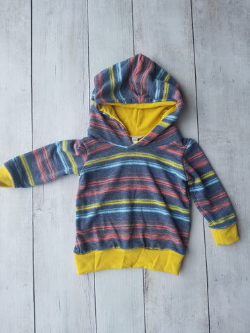 Red, Yellow & Blue Hoodie