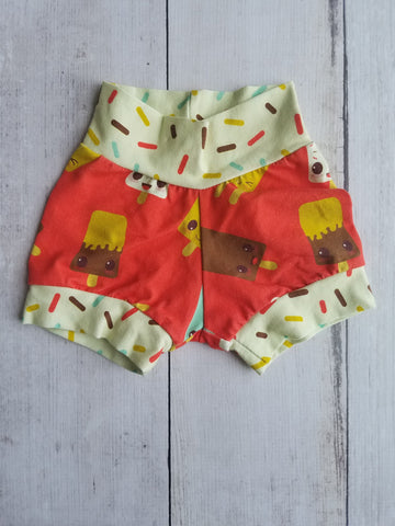 Ice Cream Cuff Shorts
