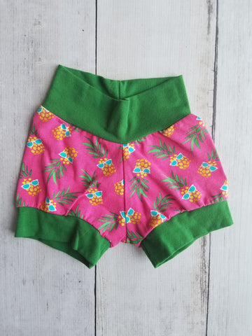 Pineapple Cuff Shorts