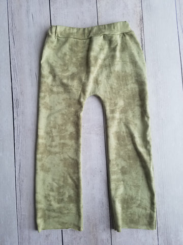 Olive Concrete Wash Lounge Pants