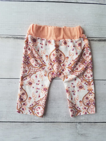 Peach Medallion Lounge Pants