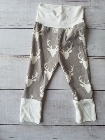 Gray Buck Grow With Me Pants