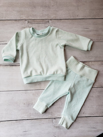 Mint Long Sleeve Tee and Leggings