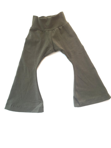 Flare Pants Olive
