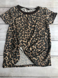 Leopard Knotted Tees