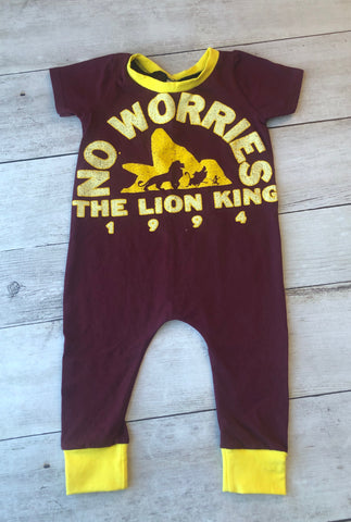 Lion King Coverall