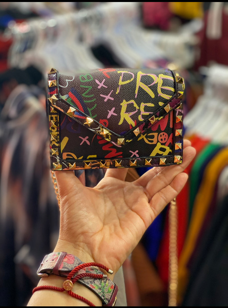 Miniature Graffiti Purse