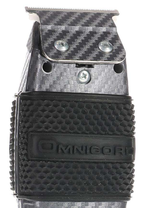 Carbon Fiber Blade Deep Tooth Ceramic with Clipper Grip (T-outliner) Ceramic Blade Omnicord Inc.
