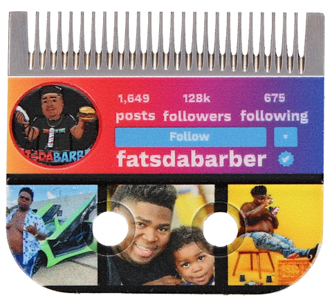The BarberNation SocialBlade: Personalize with Your Brand, Your Logo & Your Pics (Personal Marketing)