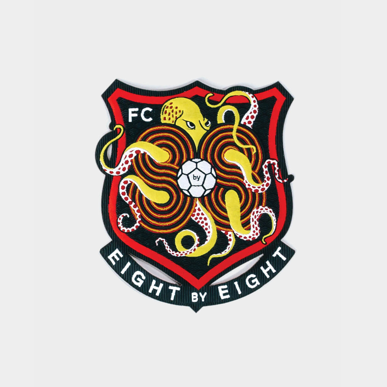 Eight by Eight FC Badge (blue/red)