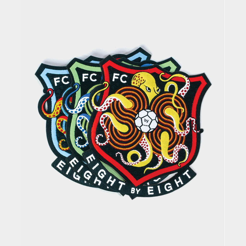 Eight by Eight FC Badge (3-pack)