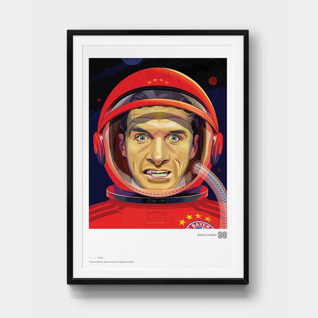 Limited-Edition Giclée Print: Thomas Müller