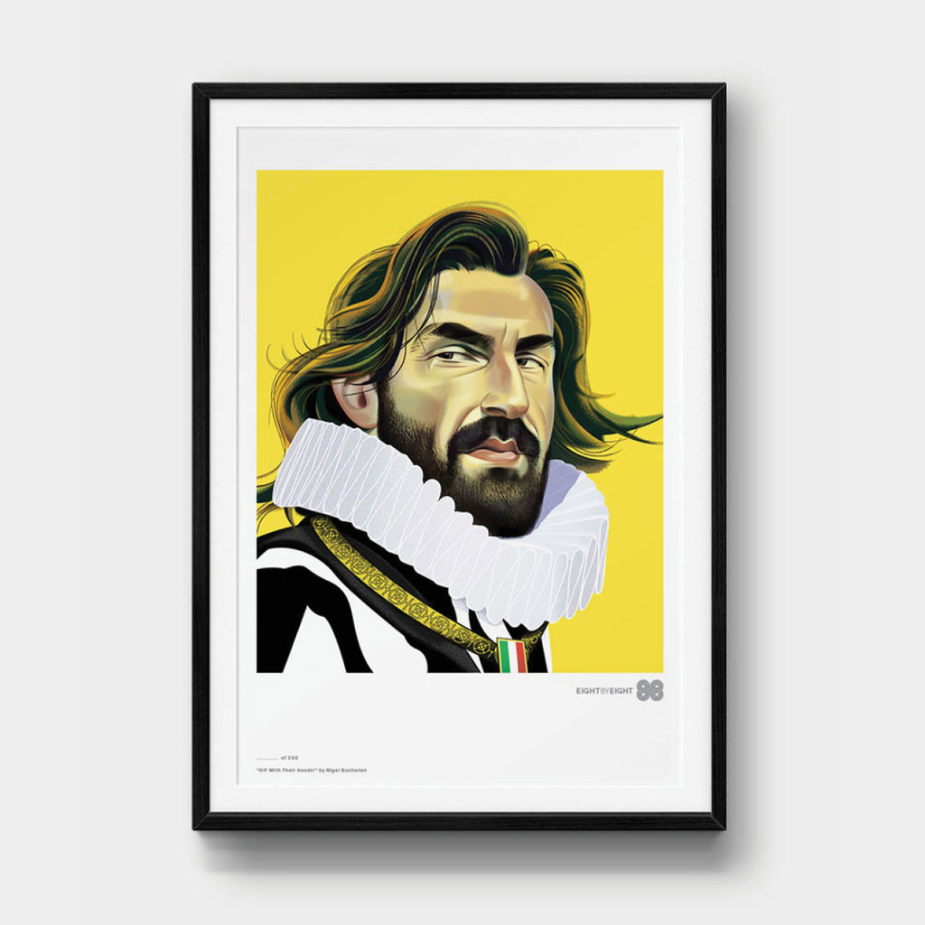 Limited-Edition Giclée Print: Pirlo