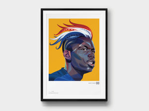 Limited-Edition Giclée Print: Paul Pogba