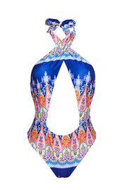 THE SANTORINI CUT OUT SWIMSUIT