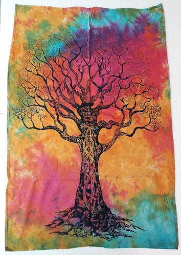 Tie-Dyed Wall Hanging