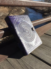 Leather Mandala Journal