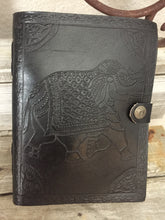 Majestic Leather Elephant Journal in 3 Color Choices