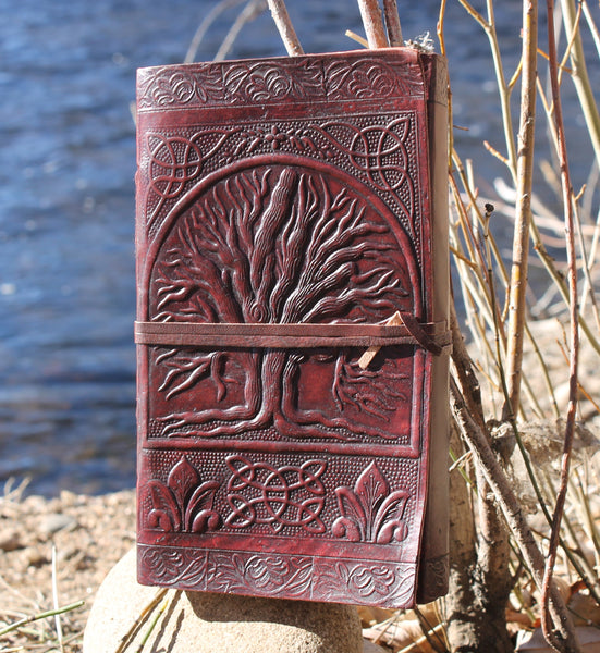 Deep Brown Tree of Life Journal