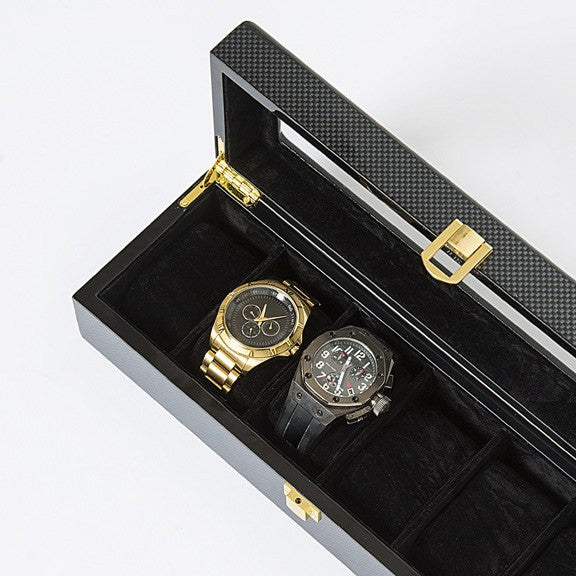 Watch It Box In Carbon Fiber