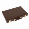 Chocolate Brown Backgammon Set