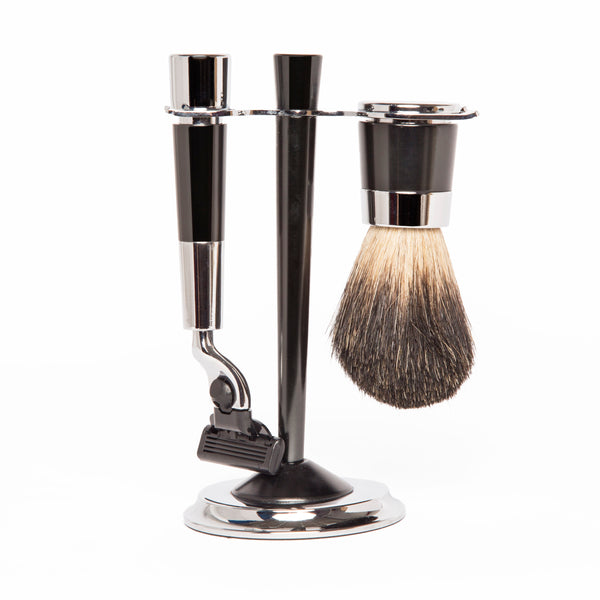 Gunmetal Shaving Set