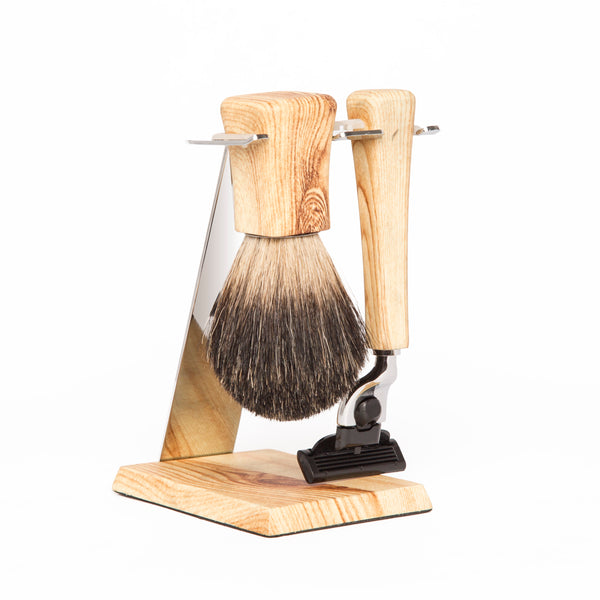 Jackson Shaving Set (Maple Wood)