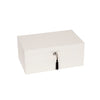 Stackable High-Gloss Jewelry Box White