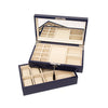 Stackable High-Gloss Jewelry Box Navy