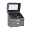 "Bradford Watch Winder ""2 Slots with Window"""