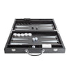 Matte Black Backgammon Set