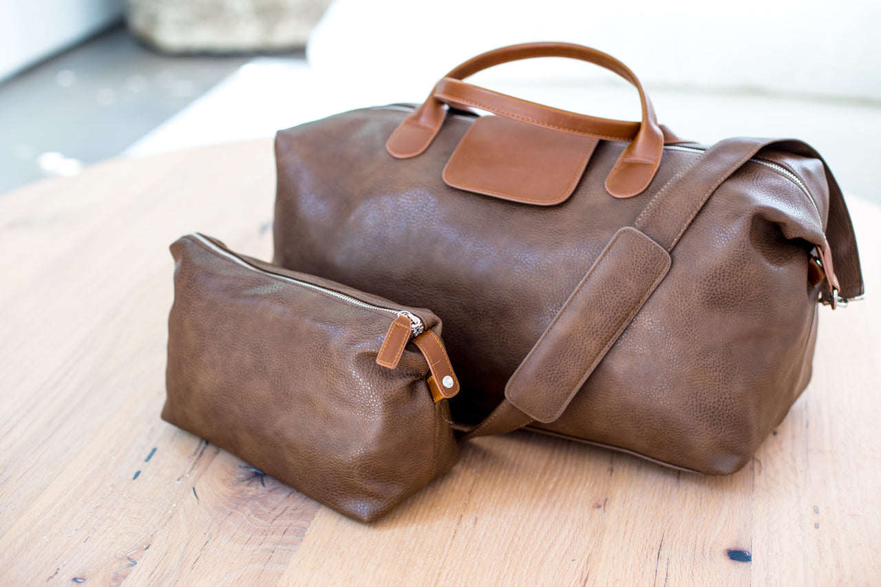 The Globe Duffel Set-Brown