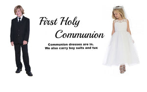 First Holy Communion dress Boy Tux Boy Suit
