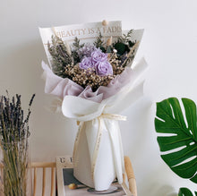 Everlasting Love (Lilac) Preserved Flower Bouquet by First Sight SG