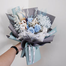 Everlasting Love (Deluxe Hydrangea - Sea Breeze) - First Sight Singapore