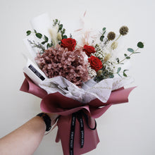 Everlasting Love (Deluxe Hydrangea - Rosewood) - First Sight Singapore: Best Florist in SG