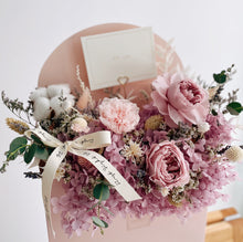 Mother's Day Carnation Flower Delivery Letter Bloom Box by First Sight SG - Singapore Best Florist