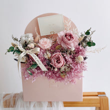 Best Gift for Mother's Day Flowers Delivery - Everlasting Letter Bloom Box with Carnation by First Sight SG - Singapore's leading online florist