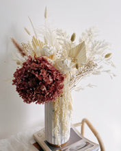 Beautiful Flower Arrangement in Marble Vase for Corporate Events - First Sight SG Leading Online Florist