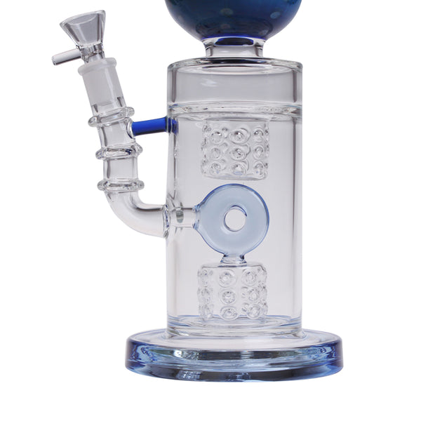 "14"" Fumed Sphere W/Drum WP0535"