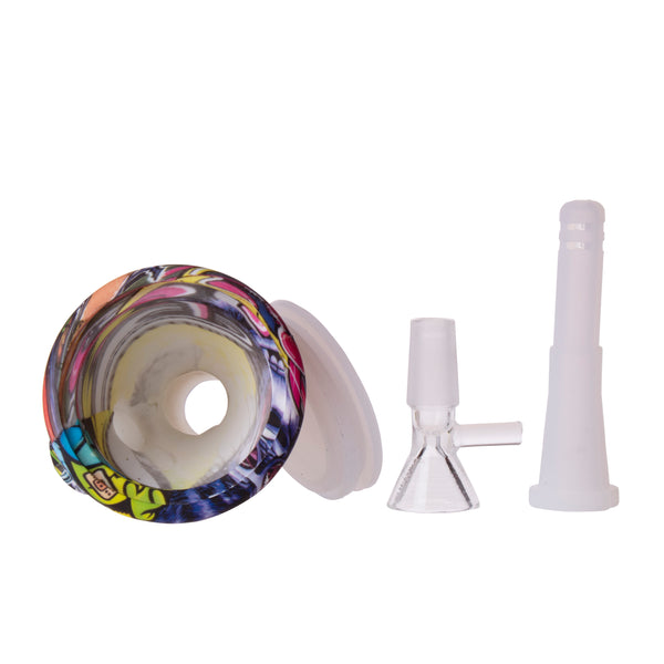 "5"" X-Small Printed Silicone Beaker WP0319"