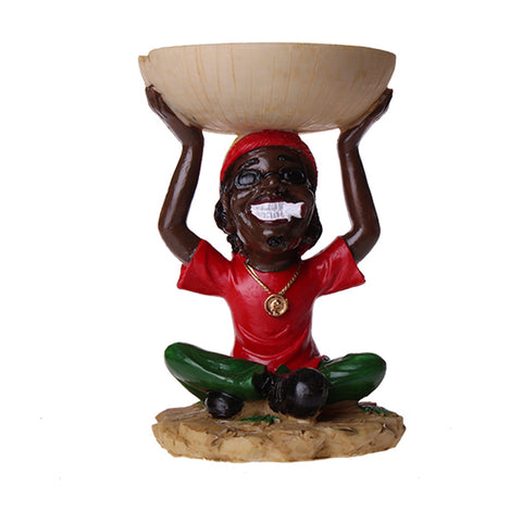 African Style Ashtray 6ct SA0018