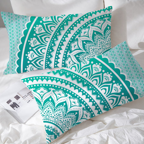 Mermaid Mandala Pillowcases (PRE-ORDER)