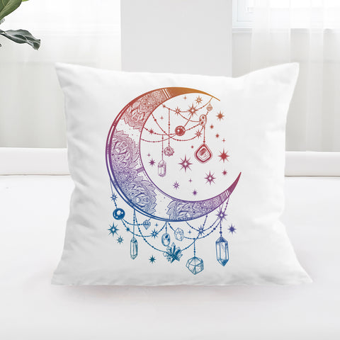 Crystal Nights Square Cushion Cover