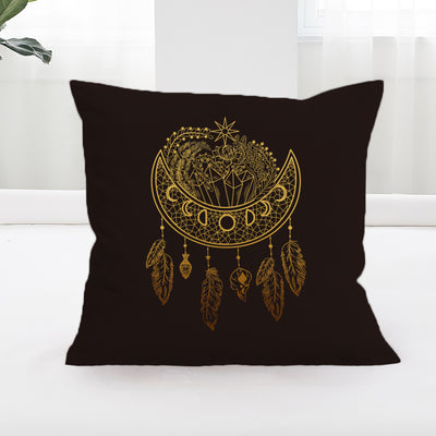 Dark Nights Square Cushion Cover